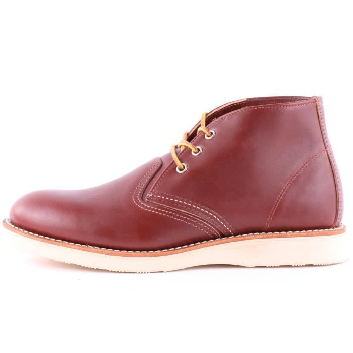 Red Wing 3139 Classic Hommes Bottes chukka Rouge foncé - 6 UK 4YMNC
