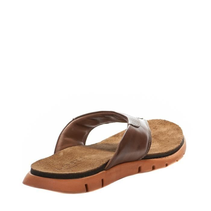 Mules homme - CYPRES - Marron - A110-904