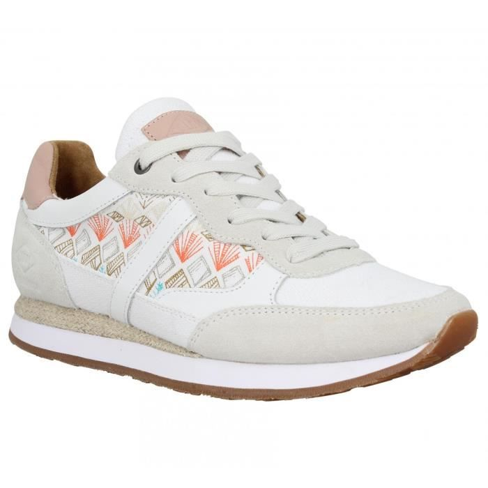 Baskets PLDM by PALLADIUM Segundo Mix Femme-36-Blanc