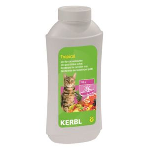 KERBL Concentré déodorant liti?re tropical - 700g - Pour chat