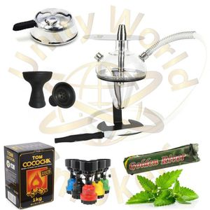 CHICHA - NARGUILÉ PACK CHICHA ODUMAN N5 JUNIOR + FOYER VORTEX + KALO