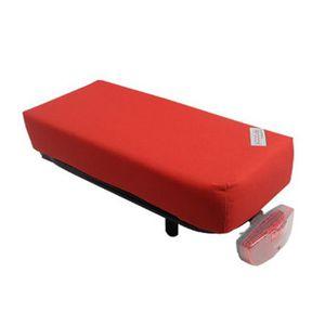PORTE-BAGAGES VÉLO Coussin rouge Hooodie Big pour porte-bagage de vél
