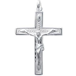 Argent sterling poli INRI pendentif croix NOUVEAU religieux Charme 925