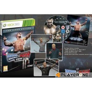 JEU XBOX 360 WWE Smackdown VS Raw 2011 Edition Collector VIPER