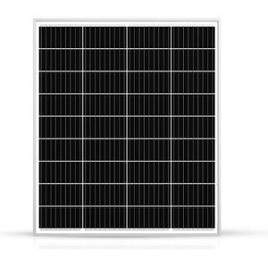 KIT PHOTOVOLTAIQUE Panneau Solaire 100w-12v Monocristalin-Ecowatt