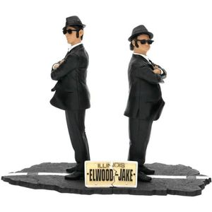FIGURINE - PERSONNAGE WTT THE BLUES BROTHERS Set de 2 figurines 17 cm Ja