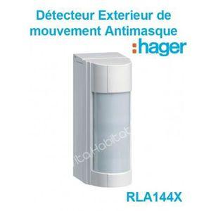2 x 360 ° 7 led pir capteur de mouvement sans fil mur de sécurité lumière porte abri armoire