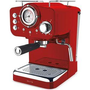 MACHINE À CAFÉ Cafetière expresso THERA retro IKOHS Vintage Rouge