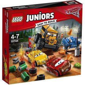 ASSEMBLAGE CONSTRUCTION LEGO® Juniors Cars 3 10744 Le Super 8 de Thunder H