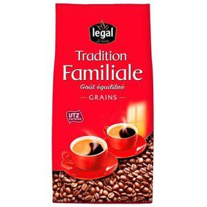 CAFÉ LEGAL Cafés Tradition Familiale Grains - 700 g