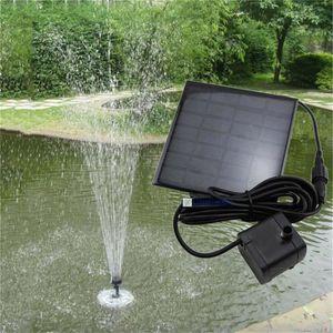 CASCADE - FONTAINE  Kit de fontaine Panneau solaire Pompe à eau