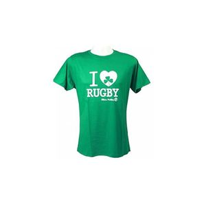 MAILLOT DE RUGBY Tee-shirt - I love rugby Irlande - Ultra Petita