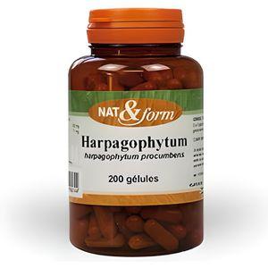 COMPLÉMENT ARTICULATION Harpagophytum 200 Gélules. Nat Et Form. Atlanti...