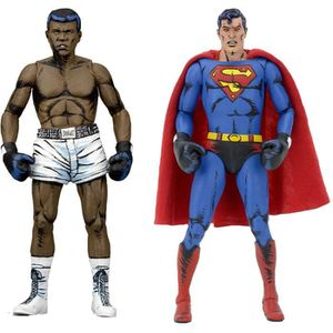 FIGURINE - PERSONNAGE Pack de 2 Figurines DC Comics : Superman vs Muhamm