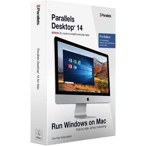 UTILITAIRE À TÉLÉCHARGER Parallels Desktop 14 - Pro Edition pour Mac