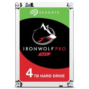 DISQUE DUR INTERNE Seagate IronWolf ST4000NE0025, 3.5