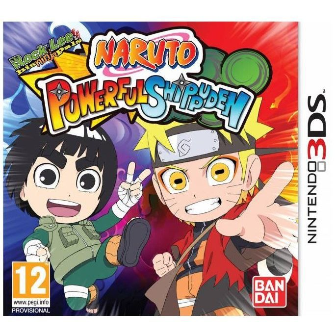 JEUX 3DS NARUTO POWERFUL SHIPPUDEN / 2DS-3DS