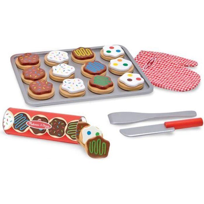 MELISSA & DOUG Jeu En Bois Pour Trancher Et Faire Cuire Des Biscuits