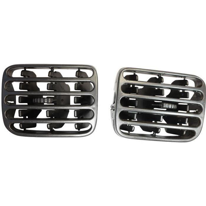 Grilles d´aération centrale du Tableau de Bord 7702258280 + 7702258279 Renault Clio MK2 1998-2006