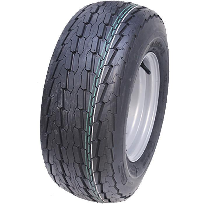 20.5x8-10 roue de la remorque, 8ply, à grande vitesse, le pneu droit de route, rebord 4 goujon 20,5 8-10