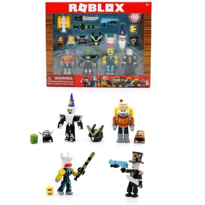 ROBLOX Robot Riot Mix & Match ensemble 7 cm modèle poupées jouets Figurines Collection blocs de construction cadeaux de noël