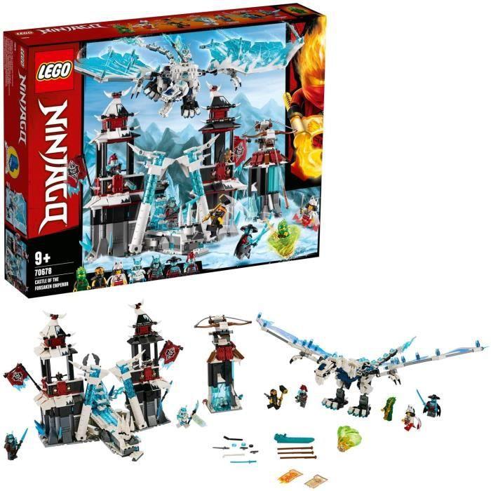 Jeux de construction LEGO®-NINJAGO® Le château de l'Empereur oublié Jeu pour Enfant 9 Ans et Plus, Briques de Constructi 52562