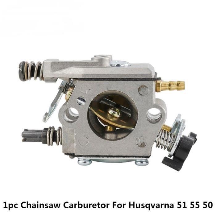 Qualité Robuste Walbro WT 170 WT 223 Carburateur Pour 51 55 50 Remplace Zama C15 51 Tronçonneuse