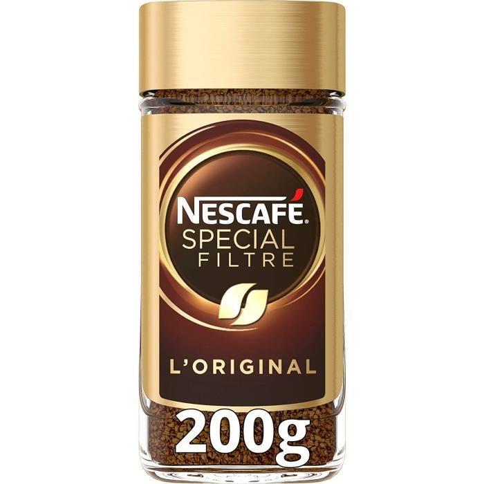 Nescafé Spécial Filtre Original - Café Soluble - Flacon de 200g[47]
