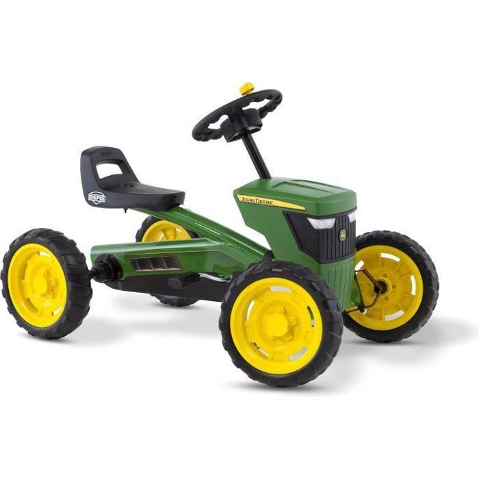 BERG Kart à pédales Buzzy John Deere - Tracteur pour Enfant Mountain 24.30.11.00