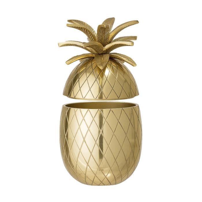 Seau à glace ananas Gold Bloomingville--24 cm 24 cm