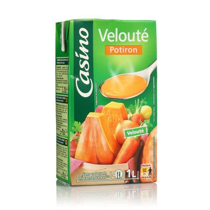 CASINO Velouté potiron - 1 L