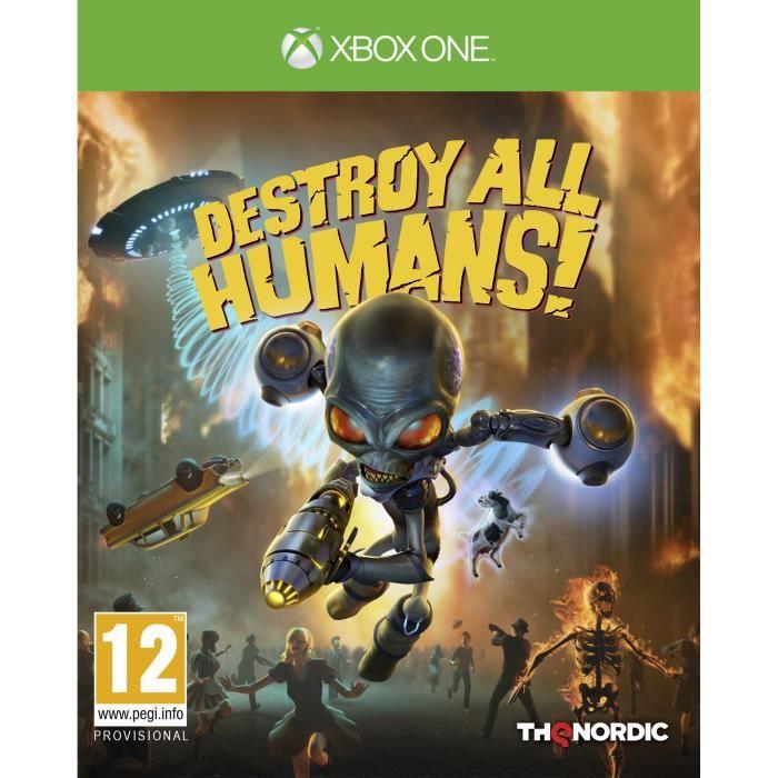 Destroy All Human ! Jeu Xbox One