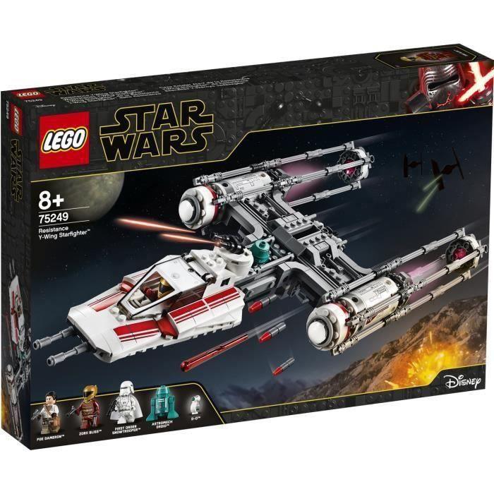 LEGO® Star Wars™ 75249 Y-Wing Starfighter™ de la Résistance
