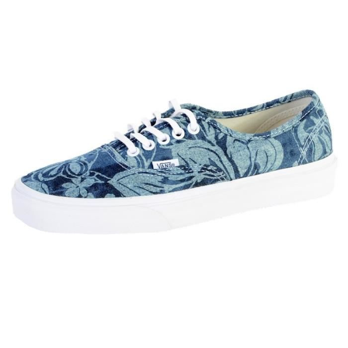 VANS Chaussures Authentic Indigo Tropical Noir Femme