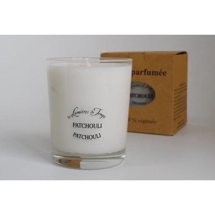 Bougie parfum patchouli (180gr.)