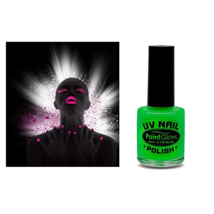 Vernis UV Ultra violet fluorescents Paintglow - 12 ML - VERT