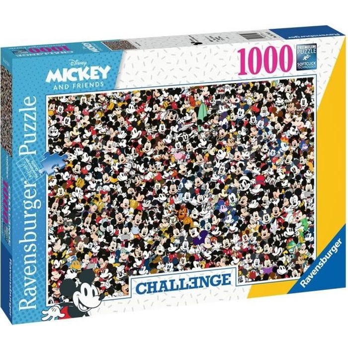 Puzzle 1000 p - Mickey Mouse (Challenge Puzzle)