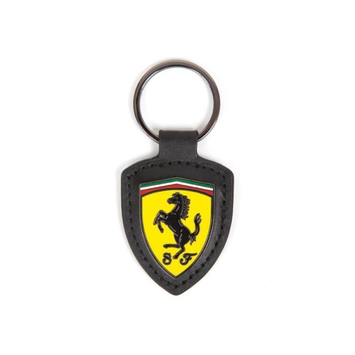 Porte-clés Ferrari Scuderia Ferrari Formula 1 Team Logo Cuir