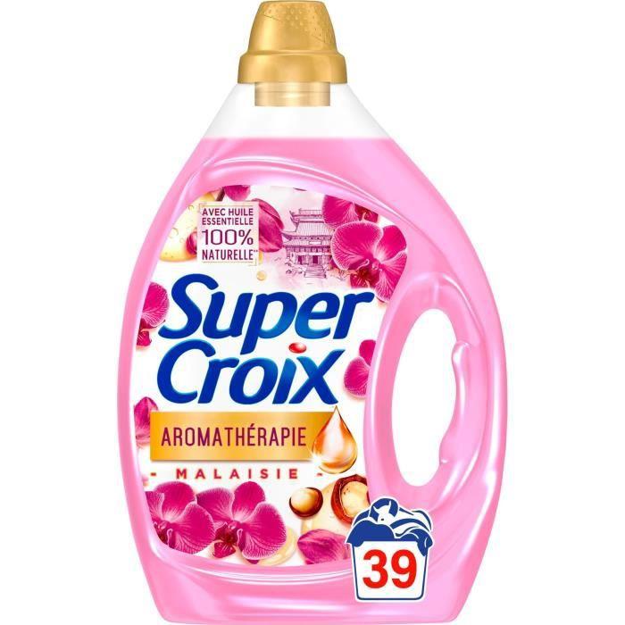 SUPER CROIX Lessive Aromathérapie Malaisie - 1,95 L