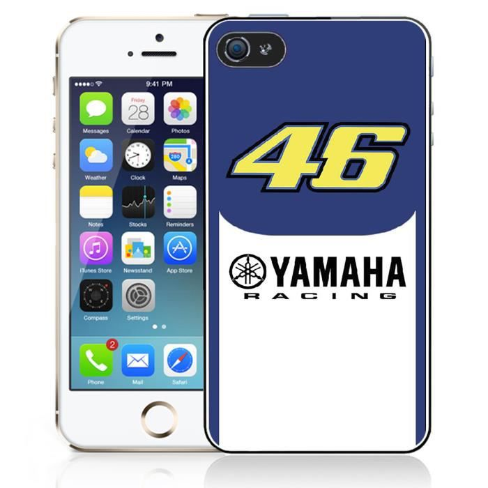 coque iphone 5 5s se yamaha racing 46 rossi