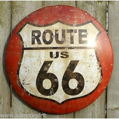 plaque publicitaire route 66 bomb usa d co m tal tole loft bar bistrot hotrod achat vente. Black Bedroom Furniture Sets. Home Design Ideas