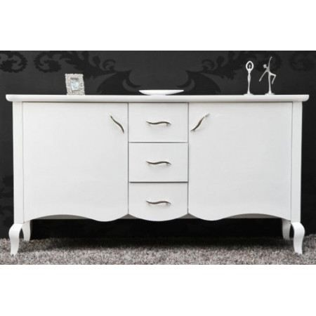 buffet design barocco blanc laqu achat vente buffet bahut buffet design barocco blanc. Black Bedroom Furniture Sets. Home Design Ideas