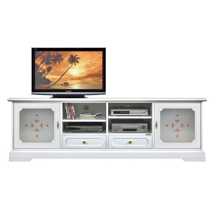 meuble tv 2m top glass achat vente meuble tv meuble tv. Black Bedroom Furniture Sets. Home Design Ideas