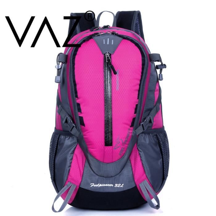 vaz sac dos randonn e professionnel home et femme tanche nylon backpacks 32l pour le sport. Black Bedroom Furniture Sets. Home Design Ideas