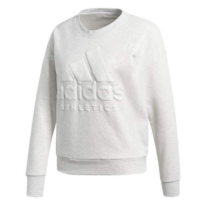 Sweat Adidas Performance Sweat Sport Id Femme Blanc Achat
