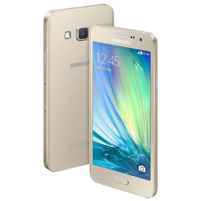 samsung galaxy a3 sm a300fu gold achat smartphone pas. Black Bedroom Furniture Sets. Home Design Ideas
