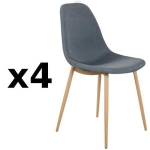 Lot chaise scandinave tissu achat vente lot chaise scandinave tissu pas c - Lot de 4 chaises design ...