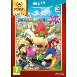 JEUX WII U Mario Party 10 Select Jeu Wii U