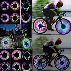 Nite Ize Spoke DEL Mini Spoke Lumières Vert Sécurité Vélo Indicateur 3-Pack de 2