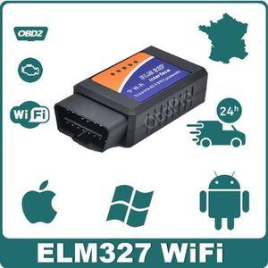 OUTIL DE DIAGNOSTIC Interface-Valise Diagnostic Auto - ELM327 OBD2 WIF